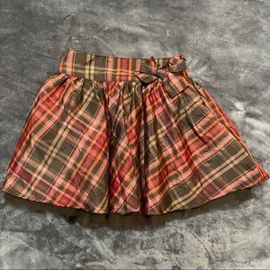 NEW Baby Gap Plaid Skirt Attached Underwear Cover